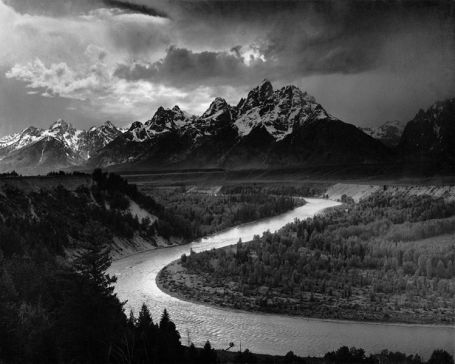 Ansel Adams, Tetons and Snake River